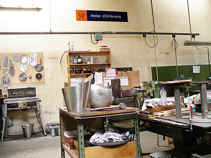 Orfèvrerie d'Anjou – Gestion des flux et de la capacité de production